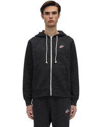 Nike Nsw Heritage Sb Zip-up Sweatshirt Hoodie - Black