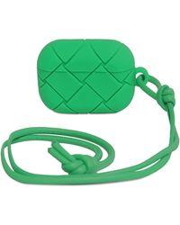 Bottega Veneta Кожаный Чехол Для Airpods Pro - Зеленый