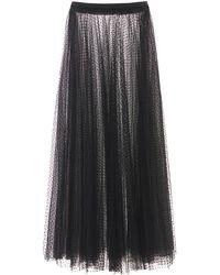 RED Valentino チュールスカート - ブラック