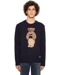 Polo Ralph Lauren Teddy Wool Sweater - Blue