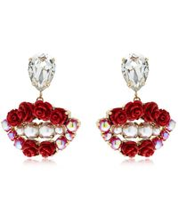 Bijoux De Famille - Lips Blossom Earrings - Lyst