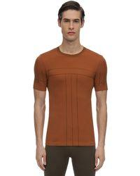 Falke テクノtシャツ - ブラウン