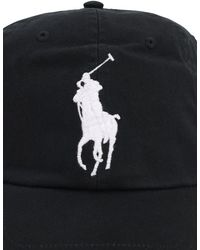 Polo Ralph Lauren Baseballkappe Aus Baumwolle Mit Logo - Schwarz