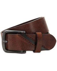 DIESEL - Cintura In Pelle 40mm - Lyst