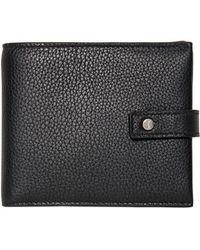 Saint Laurent - East/west Grained Leather Wallet - Lyst