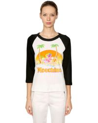 Moschino | Little Pony Printed Cotton T-shirt | Lyst