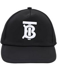Burberry - ロゴ刺繍 ナイロン野球帽 - Lyst