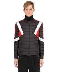 Neil Barrett Modernist Inserts Nylon Puffer Jacket - Black