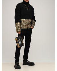 Versace Jeans Couture Regalia Baroque ナイロンポーチ - ブラック