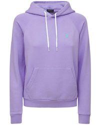 Polo Ralph Lauren Sweatshirt Aus Baumwollmischung Mit Logo - Lila