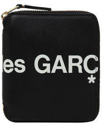 Comme des Garçons - Portefeuille Zippé En Cuir Avec Logo - Lyst