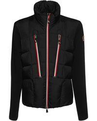 3 MONCLER GRENOBLE - Куртка Из Шерсти И Нейлона - Lyst