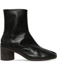 Maison Margiela - 60mm Tabi Leather Boots - Lyst