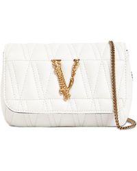 Versace Сумка Из Кожи Virtus - Белый