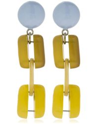 Marni - Horn Chain Clip-on Earrings - Lyst