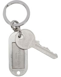 Maison Margiela Logo Key Holder - Multicolor