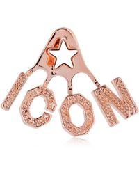 DSquared² - Icon Mono Ear Jacket Earring - Lyst