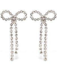 Ca&Lou - Louise Bow Clip-on Earrings - Lyst