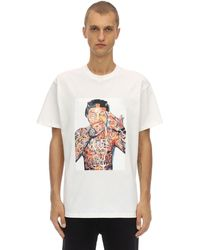 ih nom uh nit Lil Wayne Cotton Jersey T-shirt - White