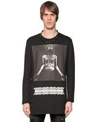 D.GNAK - Man Printed Light Cotton Sweatshirt - Lyst