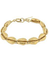 Isabel Marant Amer Shell Shape Bracelet - Metallic
