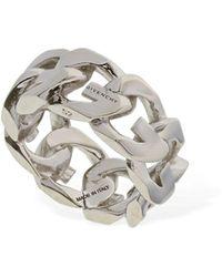 Givenchy G Chain Ring - Metallic