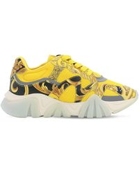 Versace Squalo Sneakers - Yellow