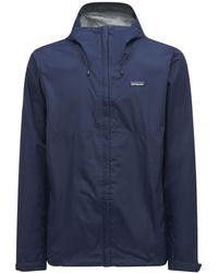 Patagonia M's Torrentshell 3l フーデッドジャケット - ブルー
