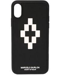 Marcelo Burlon Чехол Для Iphone X - Черный