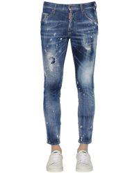 DSquared² Jeans Skinny In Denim Stretch 15cm