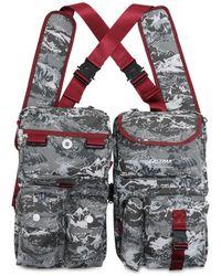 "Eastpak Brusttasche Aus Nylon ""mountaineering"" - Grau"