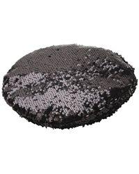 Eugenia Kim Cher スパンコール帽 - マルチカラー