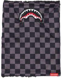 Sprayground Checkered Neck Warmer - Grau