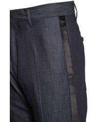 "DSquared² 15.5cm Smokinghose Aus Denim ""berlin"" - Blau"