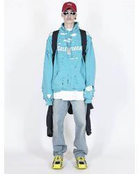 Balenciaga Tied-up Broken Twill Japanese Denim ジーンズ - ブルー
