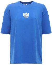 adidas Originals - Adicolor 3d Trefoil Tシャツ - Lyst