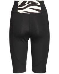 Redemption Athletix Nylon Biker Leggings - Black