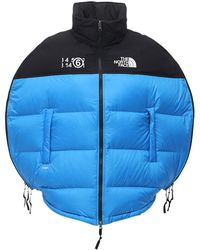 MM6 by Maison Martin Margiela Northface X Mm6 Circle Down Jacket - Blue