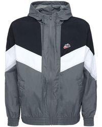Nike Windrunner ウーヴンナイロントラックジャケット - グレー
