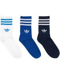 adidas Originals 3er-pack Socken - Blau