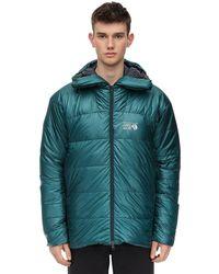 Mountain Hardwear Phantomナイロンダウンパーカ - グリーン