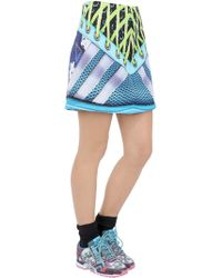 adidas Originals - Printed Neoprene Skirt - Lyst