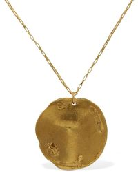 Alighieri Maestro Medallion Necklace - Metallic