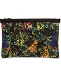 Dolce & Gabbana Клатч Из Нейлона С Принтом Uva - Многоцветный