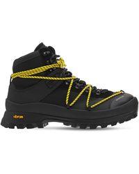 Moncler Glacier ハイキングブーツ - ブラック