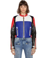 """Tommy Hilfiger """"Giacca """"""""gigi Hadid"""""""" In Pelle"""" - Multicolore"""