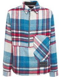 we11done ウールシャツジャケット - マルチカラー