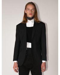 DSquared² Пиджак Из Смешанной Шерсти - Черный