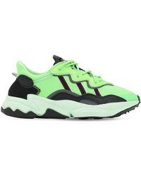 """adidas Originals Sneakers Aus Mesh Und Wildleder """"oz Prene"""" - Grün"""