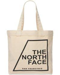 The North Face パデッドトートバッグ - ナチュラル